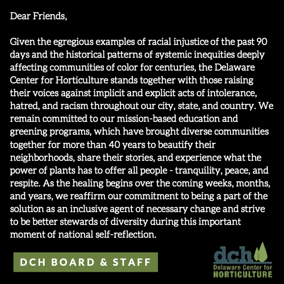 A Statement from DCH